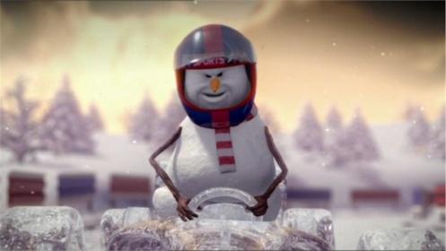 Formula One Christmas Ident 2011