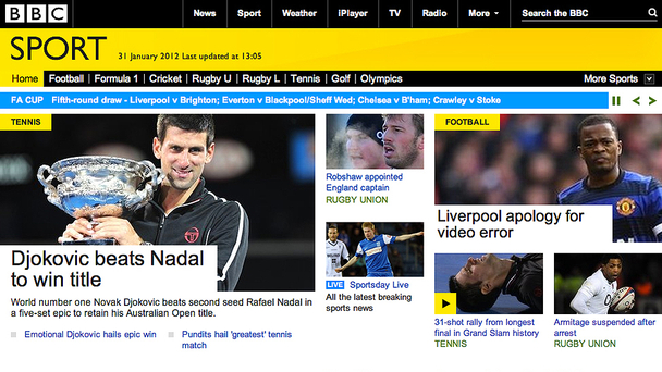 BBC Sport is to relaunch its website, focusing on live coverage