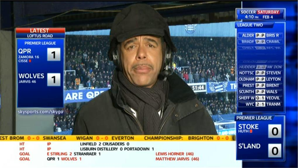 Sky Soccer Saturday: What not to wear with Chris Kamara
