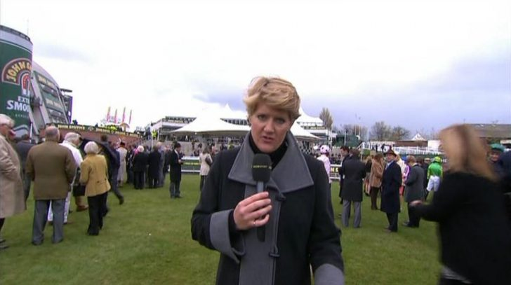 Clare Balding closes the last Grand National on the BBC