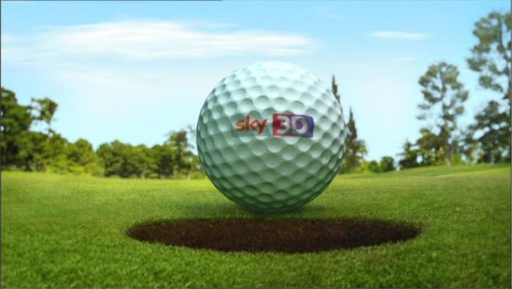 The Masters in Sky 3D – Sky Sports Promo 2012