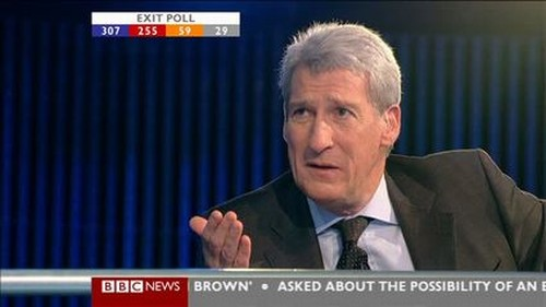Jeremy Paxman to present Channel Four's election night Coverage