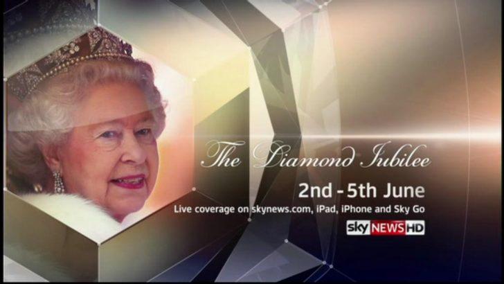 Sky News announces Queen's Diamond Jubilee Coverage