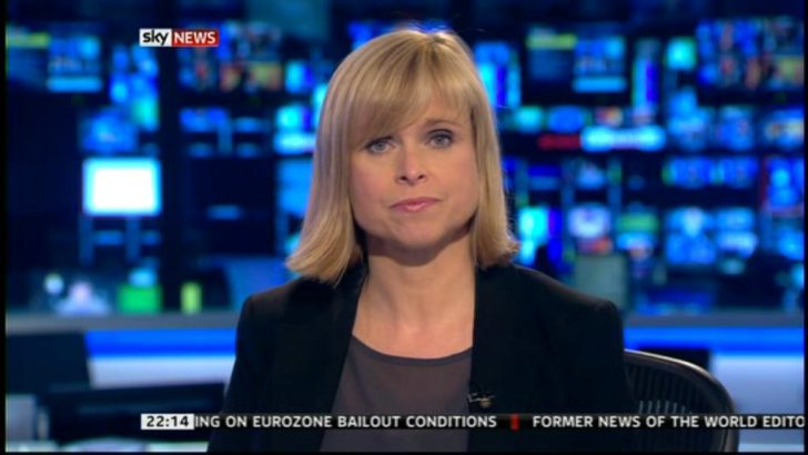 Anna Botting returns to Sky News after giving birth to Gracie