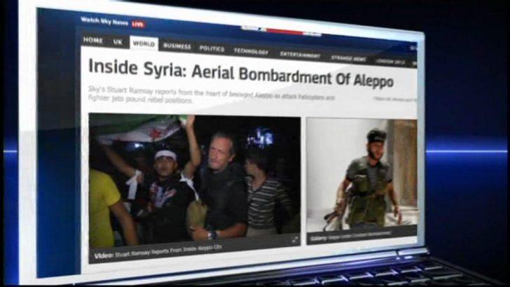 Stuart Ramsay in Syria – Sky News Promo 2012