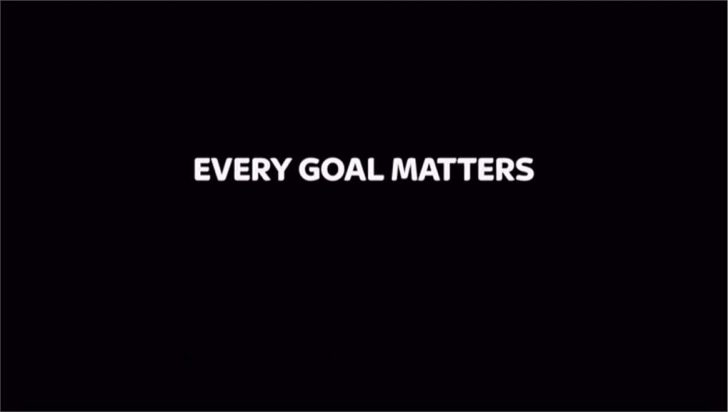 Every Goal Matters – Sky Sports Promo 2012