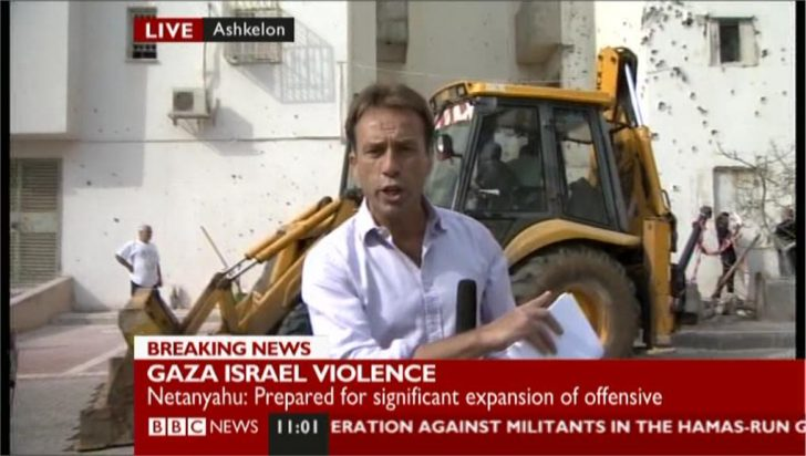 Israel-Gaza Violence: Ben Brown in Ashkelon