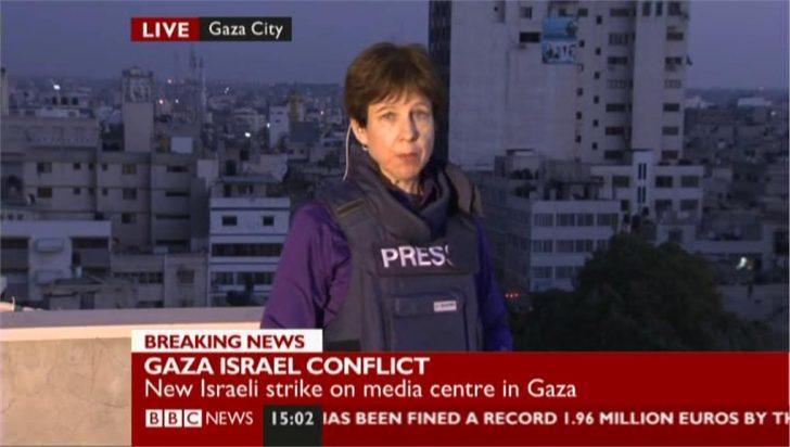 Israel-Gaza Violence: BBC's Lyse Doucet in Gaza