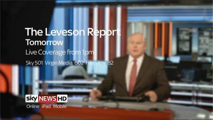 The Leveson Report – Sky News Promo 2012