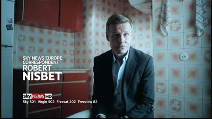 Europe Correspondent, Robert Nisbet – Sky News Promo 2013