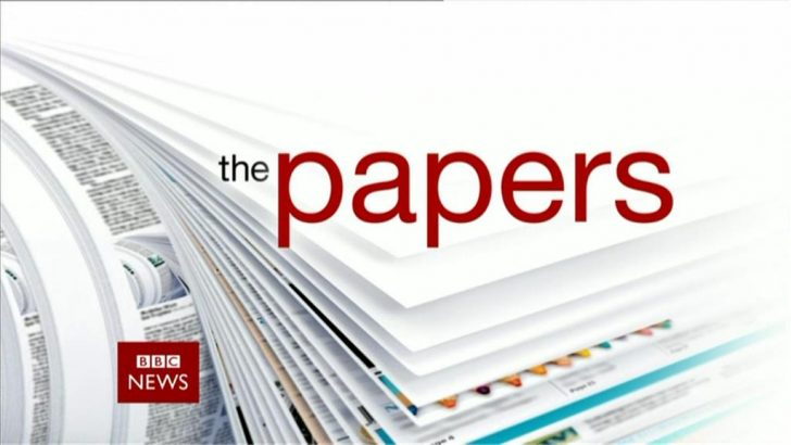 BBC News 2013: 'The Papers' Sting