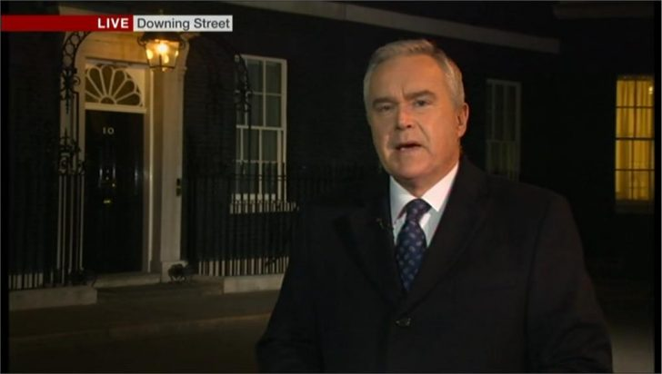 Huw Edwards presents 'The Ten' from Downing Street