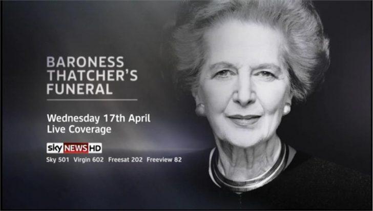 Baroness Thatcher's Funeral – Sky News Promo 2013