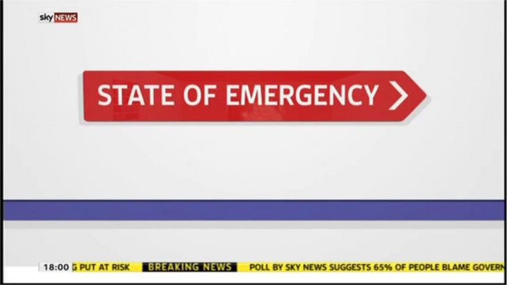 State of Emergency – Sky News Presentation