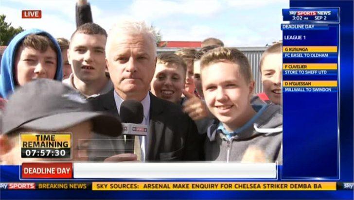 Deadline Day 2013: Peter Stevenson Reporting on Liverpool