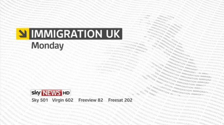 Immigration UK – Sky News Promo 2013