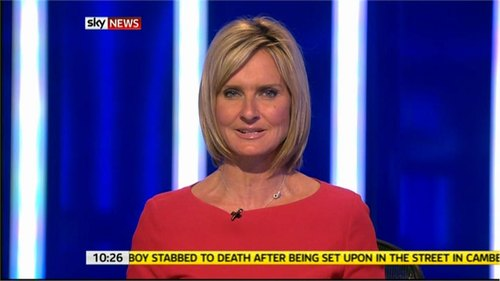 Sky News Presenter Jacquie Beltrao diagnosed with Breast Cancer
