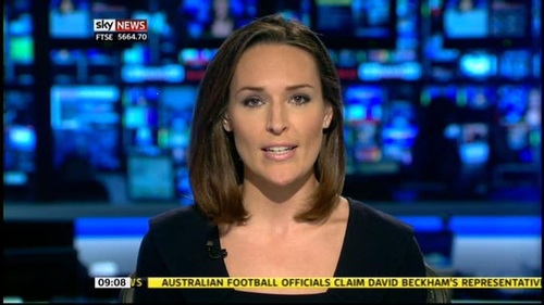 Is Isabel Webster to replace Charlotte Hawkins on Sunrise?