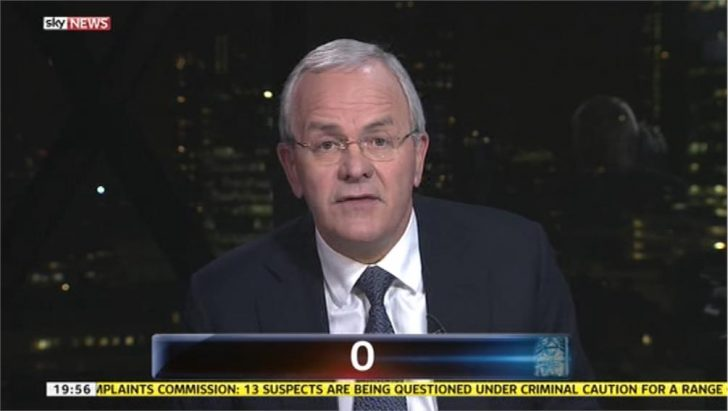 Jeff Randall signs off from Sky News