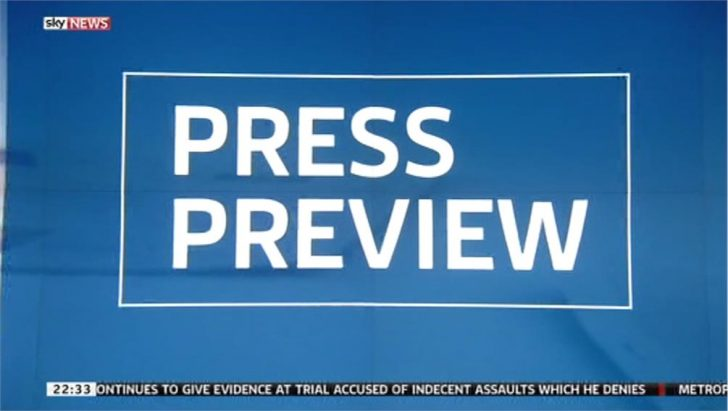 Images: new look Sky News Press Preview