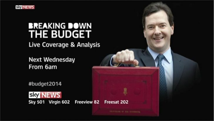 Breaking Down the Budget – Sky News Promo 2014