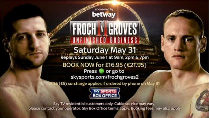 Carl Froch v George Groves II – Sky Sports Promo