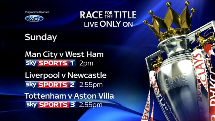 """""""See the Title won, live only on Sky Sports"""" (Promo)"""