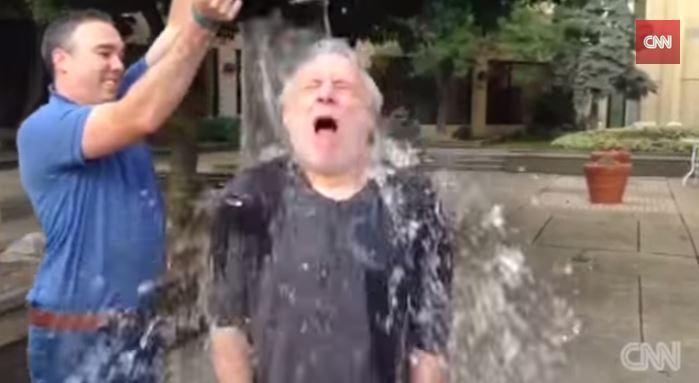 Wolf Blitzer's ALS Ice Bucket Challenge