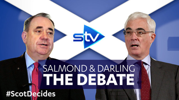 Salmond v Darling: Referendum debate, Live on STV, ITV Border