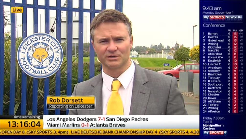 TDD14: Rob Dorsett – Leicester City