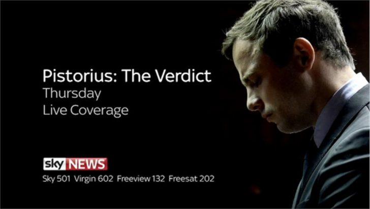 Pistorius: The Verdict – Sky News Promo 2014