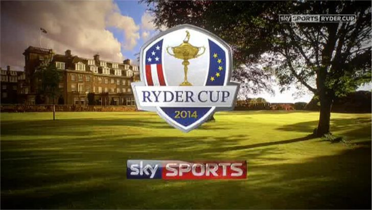 Sky Sports Ryder Cup Presentation 2014