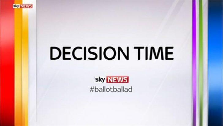 Decision Time – Sky News Promo 2015