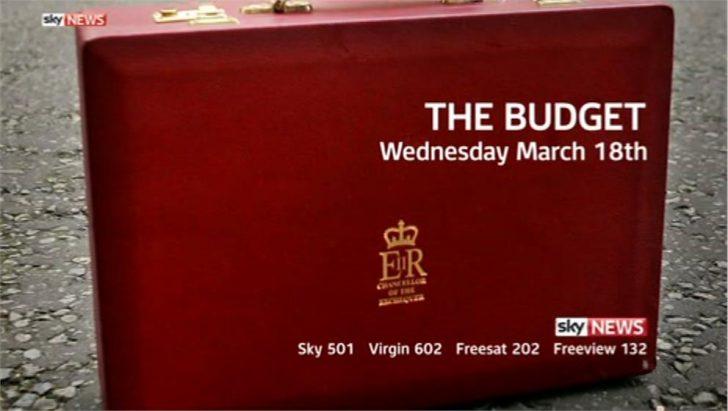 The Budget – Sky News Promo 2015