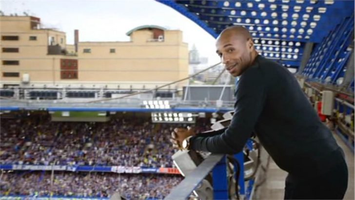 Video: Thierry Henry stars in new Sky Sports advert