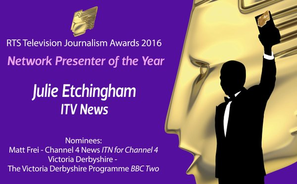 RTS Television Journalism Awards 2016: The Results