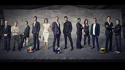Channel 4 F1 Presenters & Commentators
