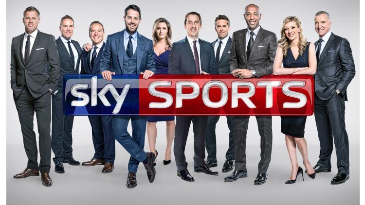 Gary Neville returns to Sky Sports; Rachel Riley joins; David Jones, Simon Thomas promoted