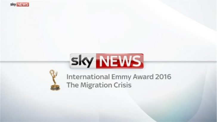 Emmy Award for migration crisis – Sky News Promo 2016