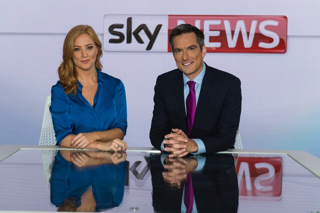 Sarah-Jane Mee and Jonathan Samuels named new presenters of Sky News Sunrise