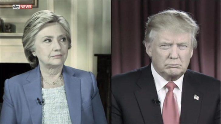 "First U.S. Presidential Debate – ""We Don't Talk Anymore"" – Sky News Promo 2016"