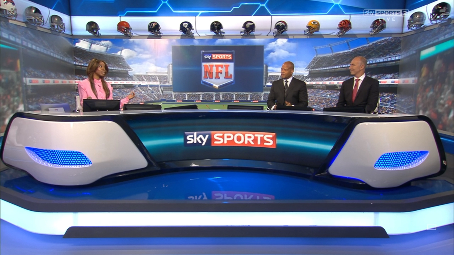 Viewers can vote for which NFL games to show on Sky Sports in week 10