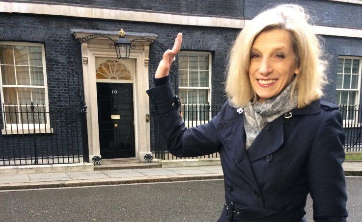 Political Correspondent Carole Walker leaves the BBC