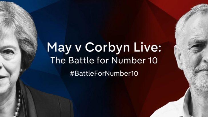 Battle for Number 10 – May v Corbyn 2017 – Presentation