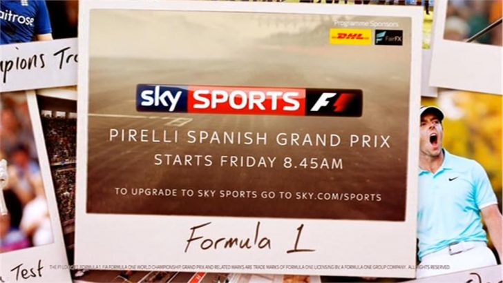 Spanish Grand Prix 2017 – Live TV Coverage on Sky Sports F1, Highlights on Channel 4