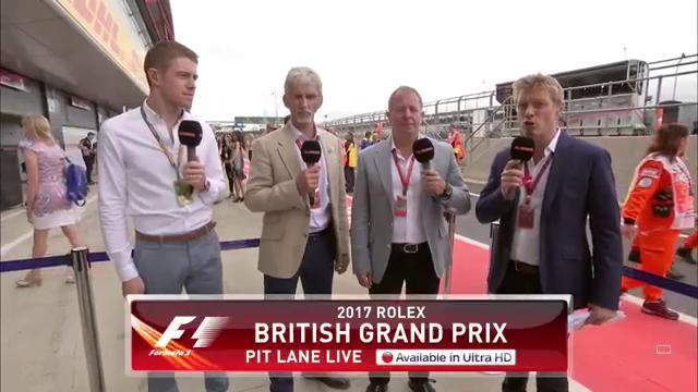 Sky F1's Martin Brundle taken ill at British Grand Prix