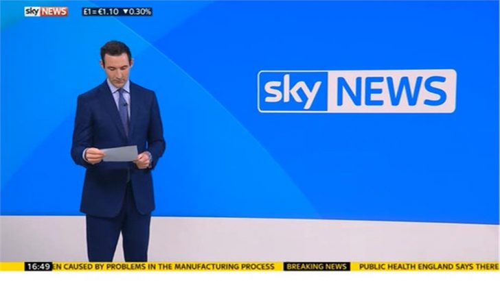 Images: Sky News launch new newswall graphic