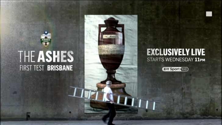 The Ashes 2017/18 – Live TV Coverage on BT Sport; Live Steaming on BTSport.com