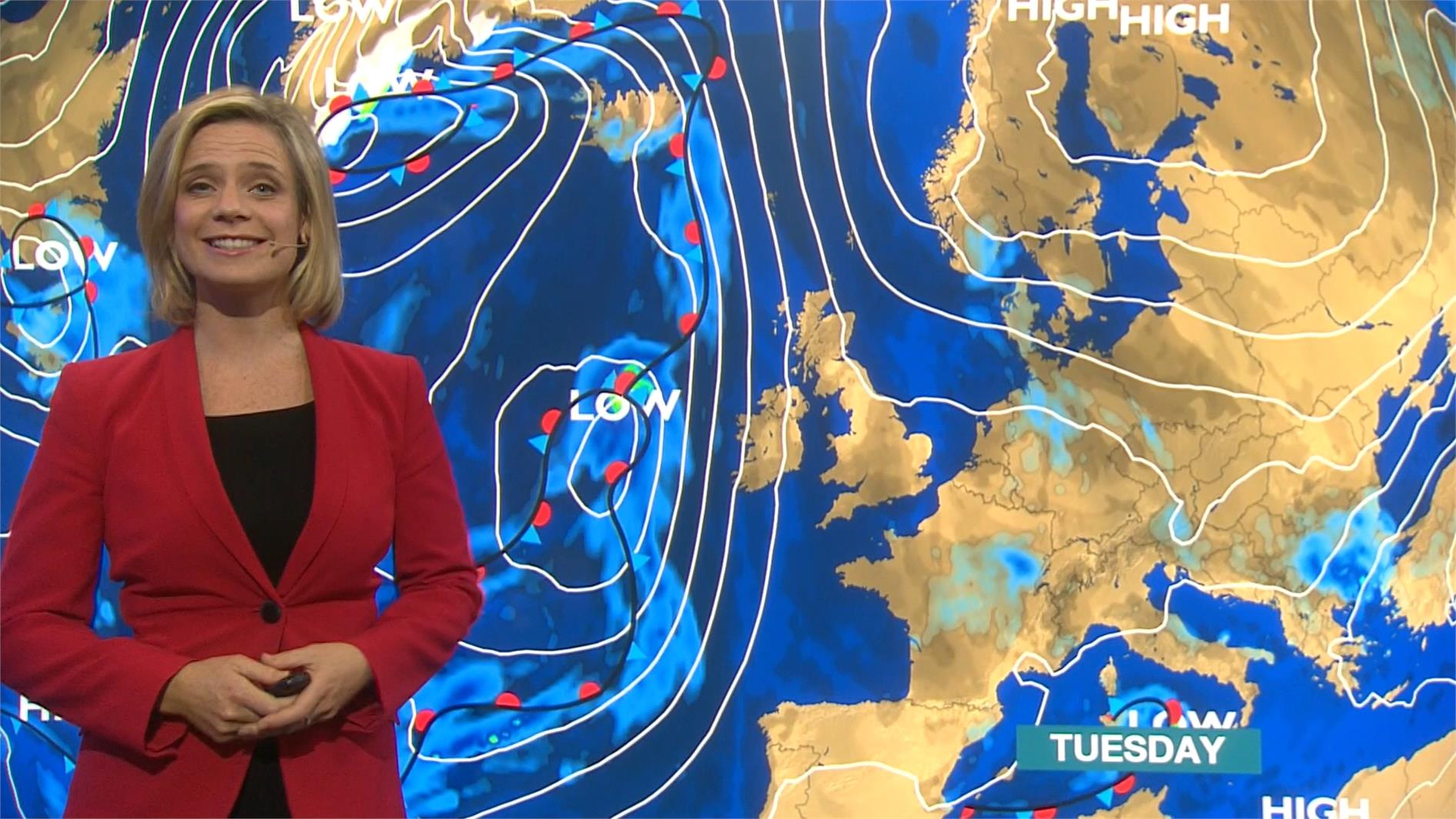 Sarah Keith-Lucas - BBC Weather Presenter (1)