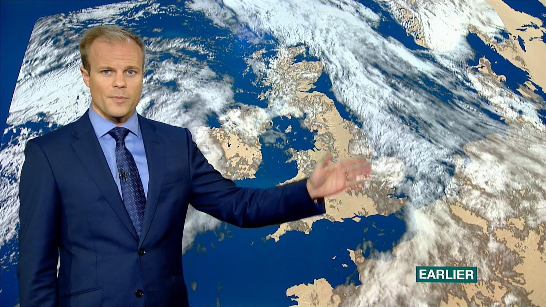 Simon King - BBC Weather Presenter (1)